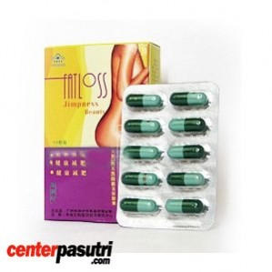 Fatloss Pelangsing Badan 100% Herbal