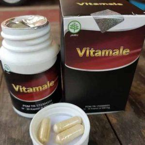 Vitamale HWI Obat Pria Perkasa 100% Herbal Alami